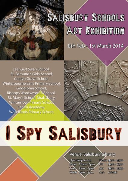 'I Spy Salisbury' at Salisbury Library, February 2014